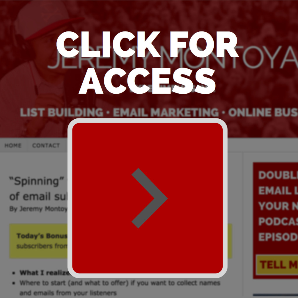 Spinning Content Access - The Montoya Experiement
